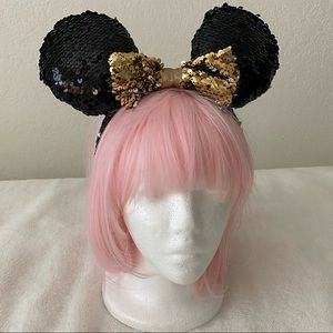 Black Sparkly Disney Ears (Charming Charlie)